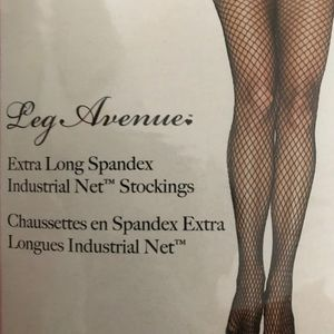 82e7ca1fb2e Leg Avenue Accessories - Leg Avenue Extra Long Fishnet Stockings